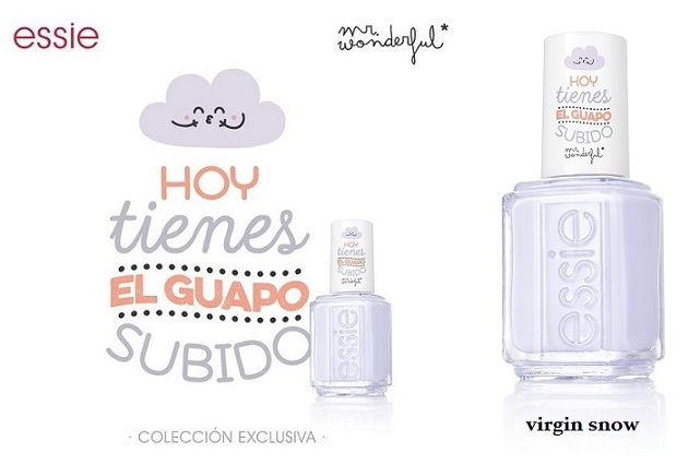 virgin snow essie y mr. wonderful