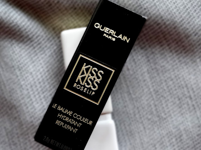 Guerlain KissKiss Rose Lip Hydrating & Plumping Tinted Lip Balm in Wonder Violette