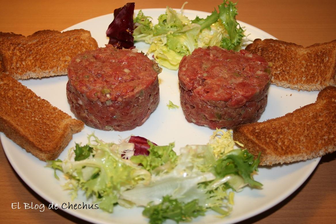 steak tartar, el blog de chechus, chechus cupcakes