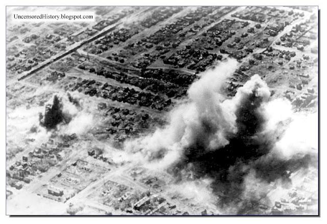 German bombers strafe Stalingrad