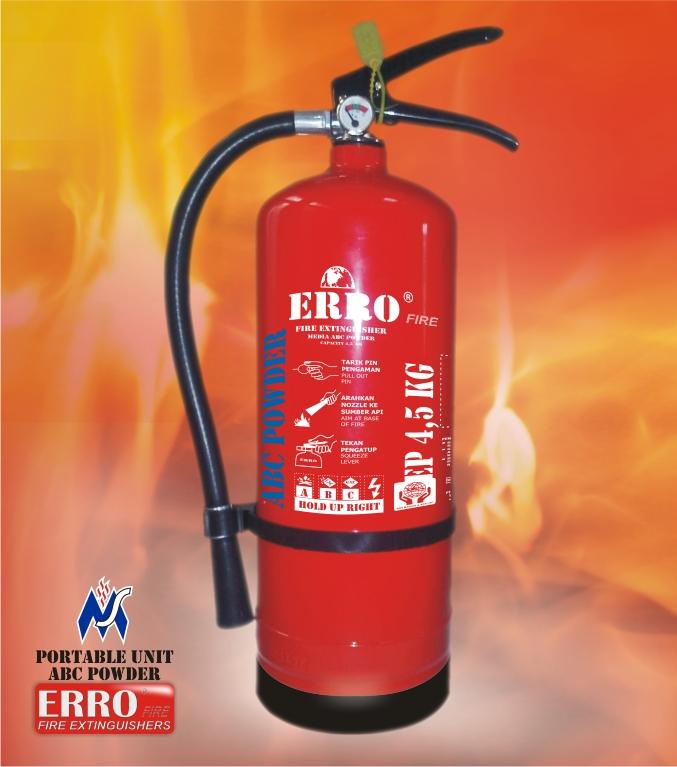 Tabung Pemadam Api (Apar) 4.5 Kg