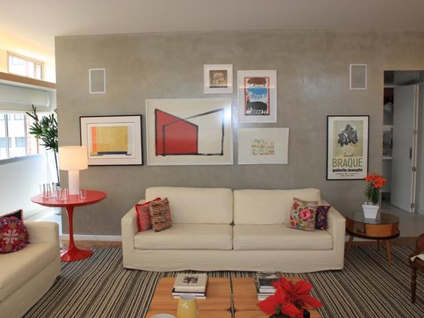 Como Colocar Quadros Na Sala De Tv ~ Quadros na sala dicas de decoração  Redecorando sua casa