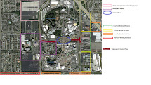 Disneyland Hotels Walking Distance Map
