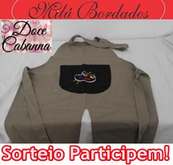 152 SORTEIO DOCE CABANNA+ MILU BORDADOS