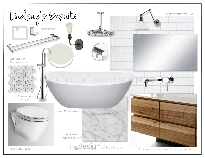 Creed e design bathroom from concept to sneak peek for Bathroom sample designs