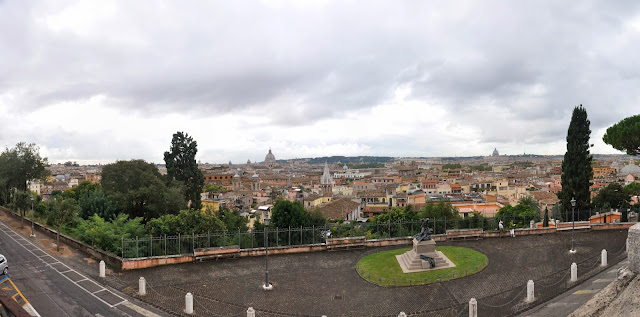 View from Borghese Park