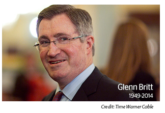 rip glenn britt former chairman and ceo of time warner cable