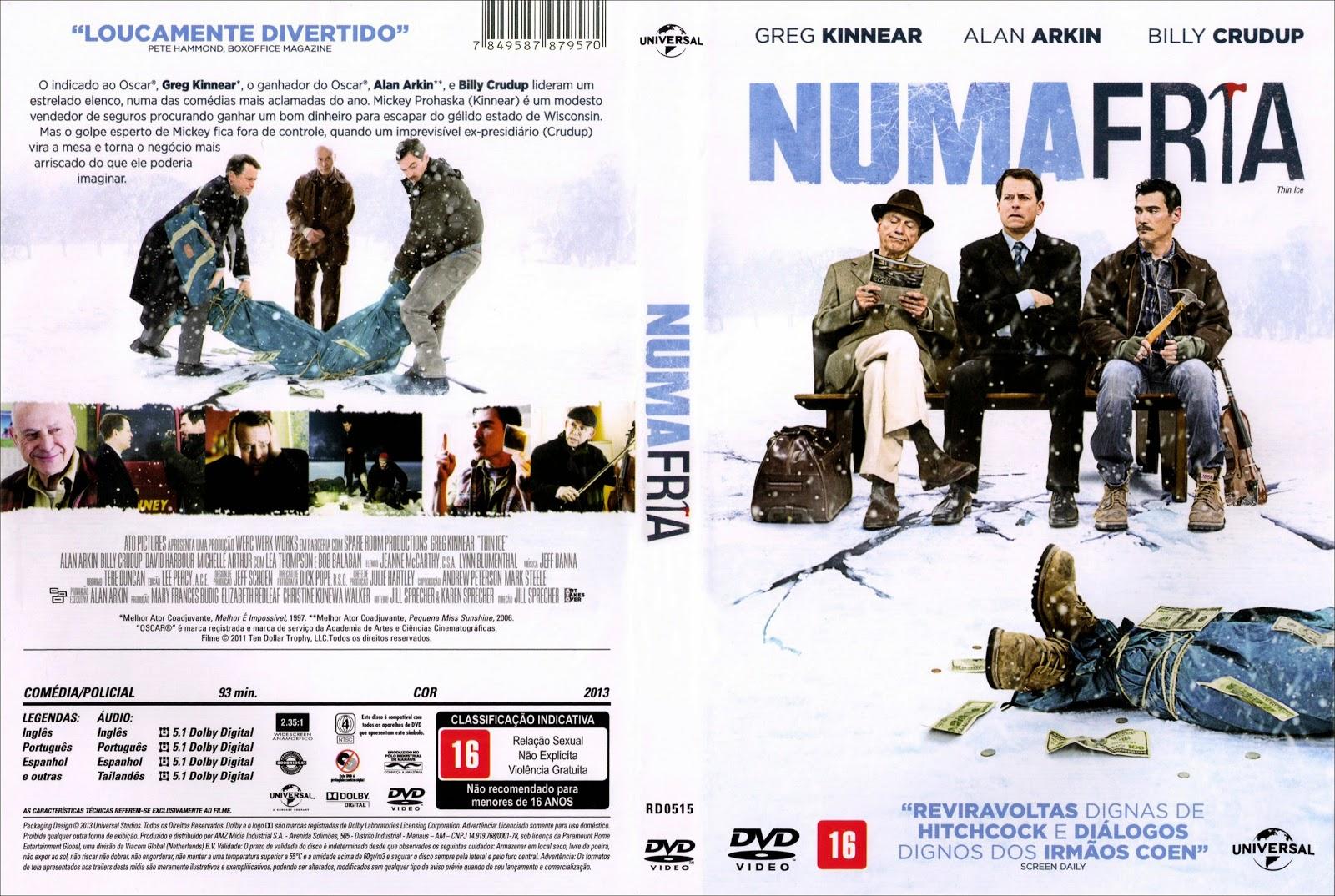 Capa DVD Numa Fria
