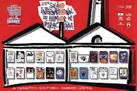 """""""Óia Nóis! Onze Cartunistas de Piracicaba""""- Salão Internacional de Humor - Piracicaba, SP (1998)"""