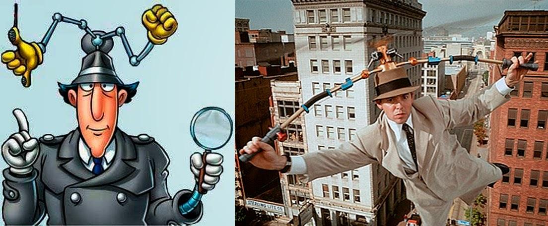 Matthew Broderick como el Inspector Gadget, Series llevadas al cine