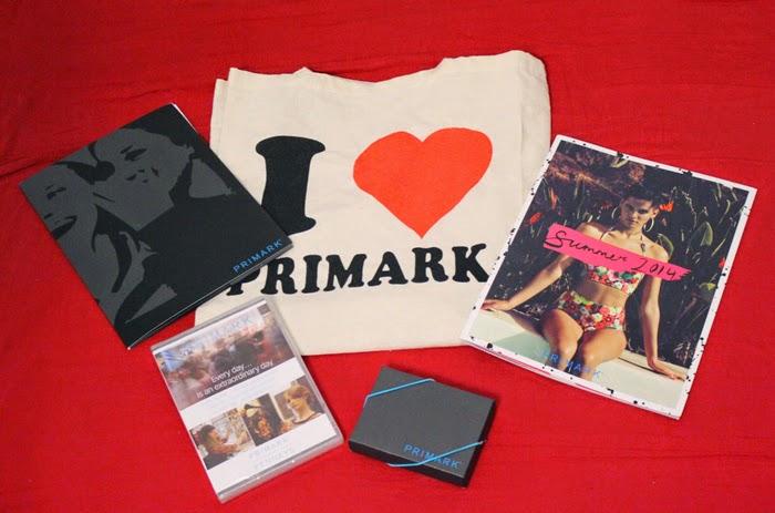 primark shopping bag, press kit, fashion blog, fashion blogger, primark, opening, paris, o'parinor