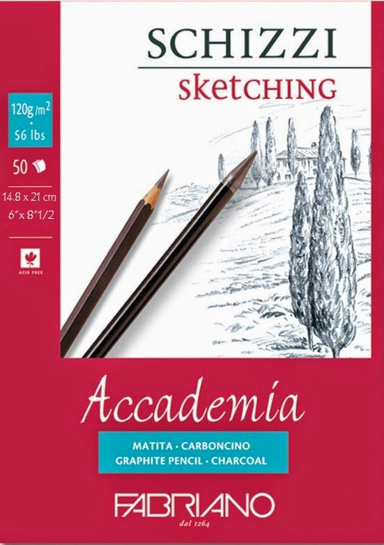 Fabriano Academia pad with 50 sheets