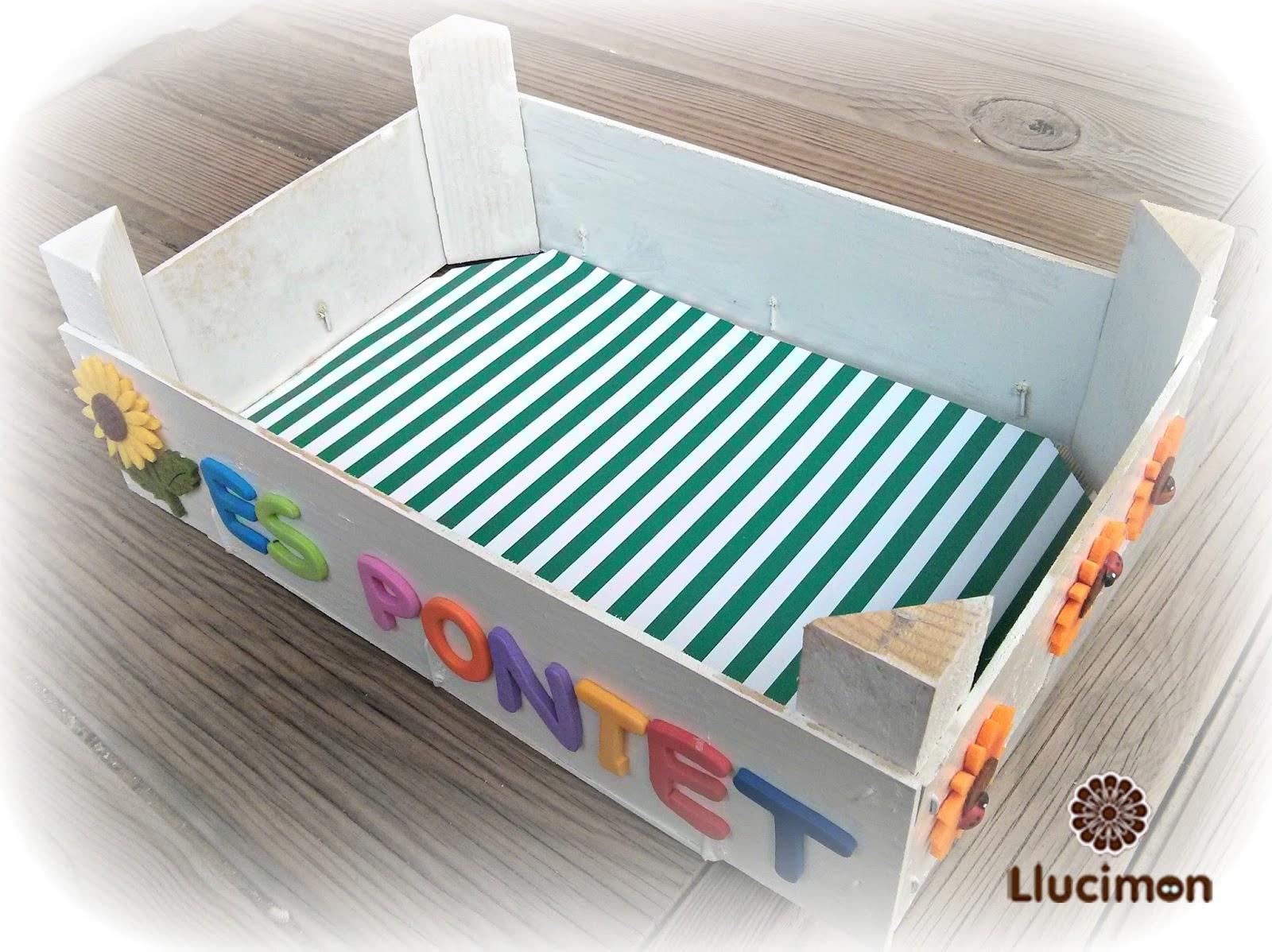 Dnde lo has comprado Caja de frutas decorada regalo para profesores