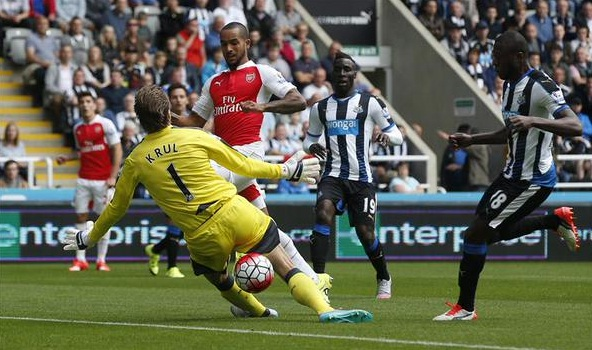 Newcastle 0-1 Arsenal