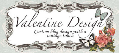 ***Valentine Design....Custom Blog Design