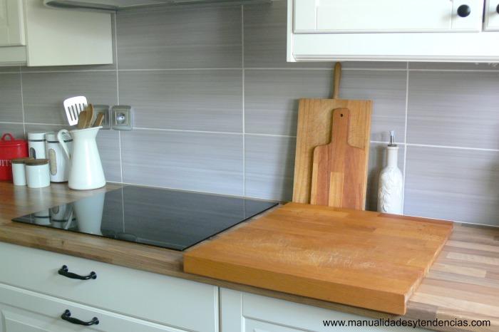 Manualidades y tendencias remodelaci n de mi cocina - Cocinas de madera para ninos ikea ...