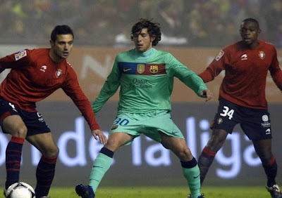 Osasuna 1 - 2 Barcelona (2)