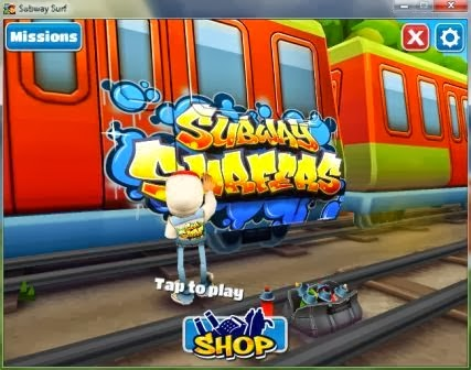 Subway Surfers Screen Shots:-))