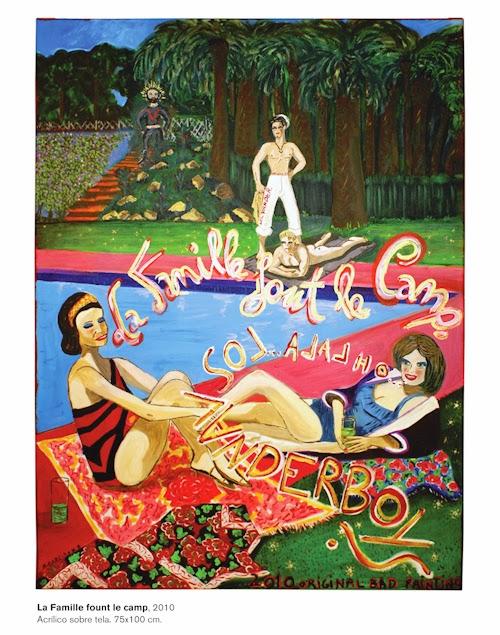 La Familie fount le camp, Agustí Garcia Monfort, Bad painting, La mala digestión