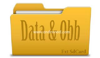 Memindahkan Data obb Game ke Memori External/kartu SD
