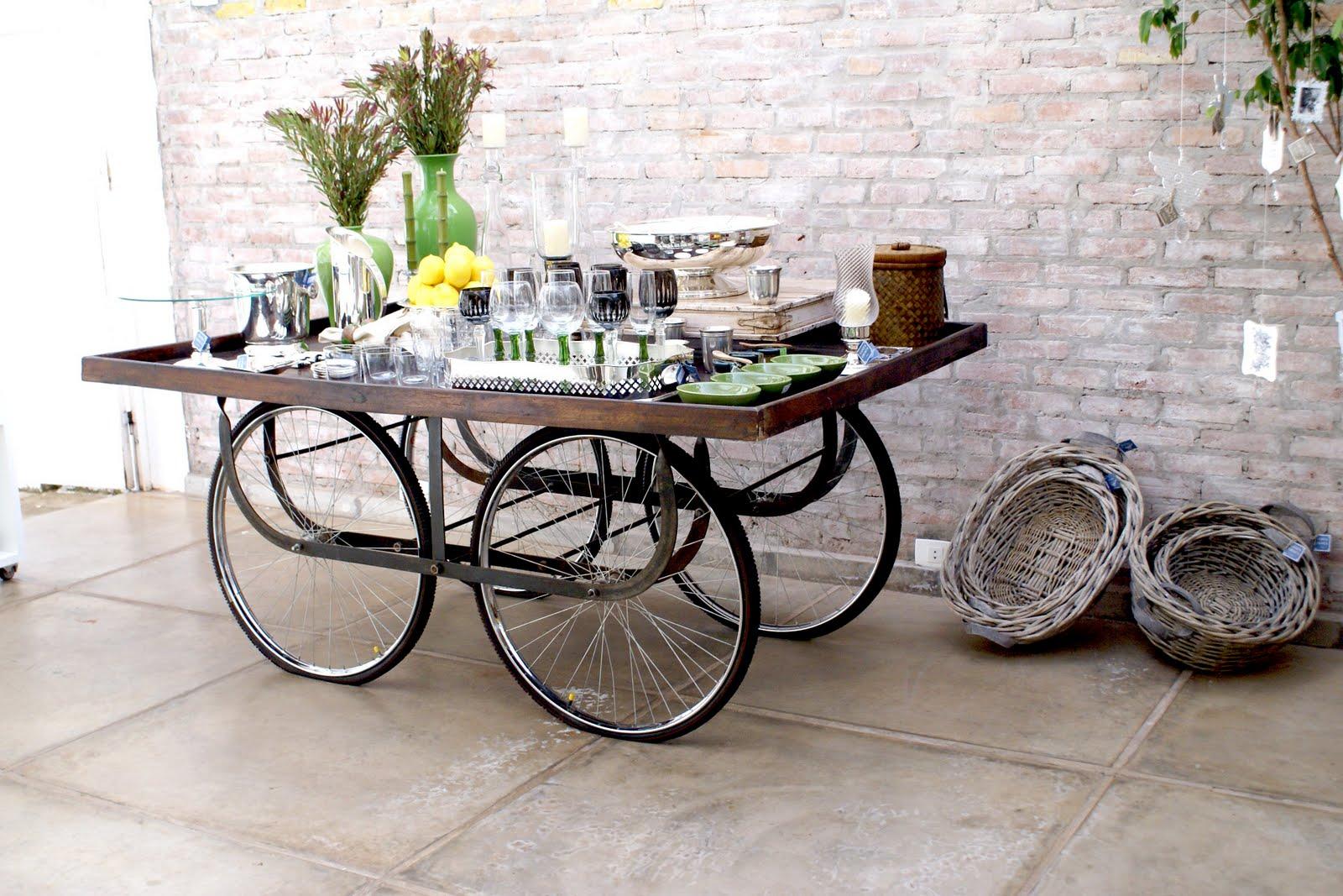 enfeite jardim bicicleta:Festa, Sabor & Decoração: Bicicleta na decoração