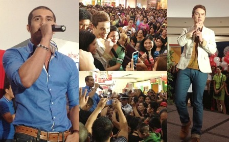 Dugong Buhay cast in Cavite event