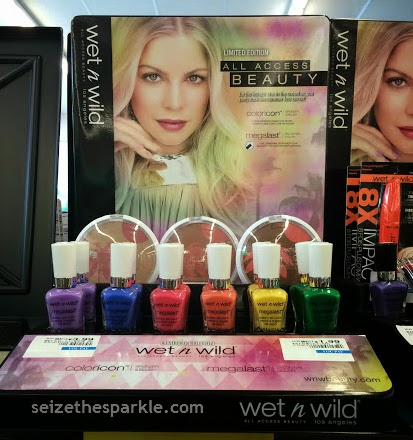 Wet n Wild All Access Beauty Megalast Nail Polish Collection