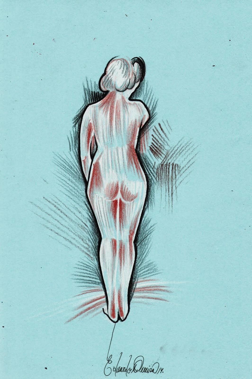 Mujer en estado gaseoso