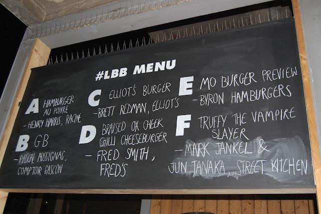London Burger Bash - Burger Contenders