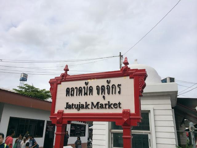 wisata, jatujak market,Bangkok,Thailand