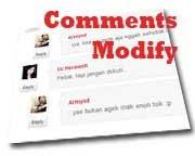 cara modifikasi komentar blog