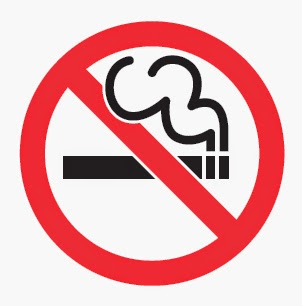 Do not smoke sign