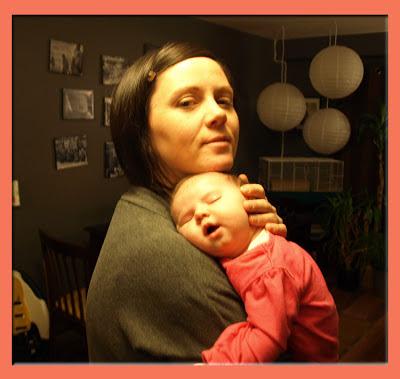 Jane Barkley and Baby