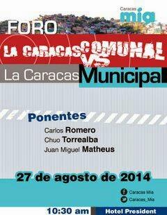 Caracas Comunal vs Caracas Municipal