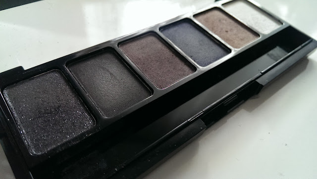 NYX smokey palette - the shadows