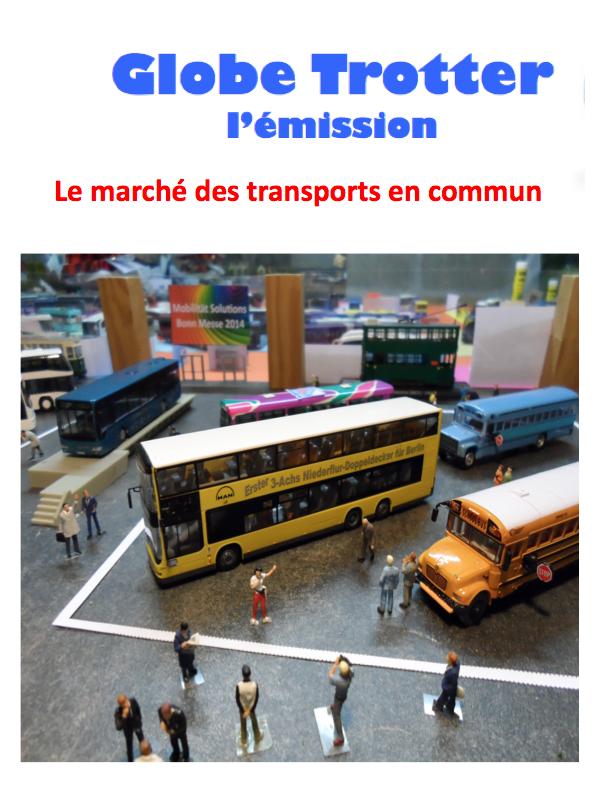 Le marché des transports en commun