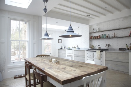 Natural Modern Interiors How To Decorate The Modern Country Style