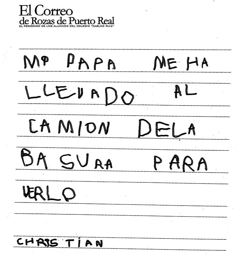 El Correo De Rozas De Puerto Real El Cami N De La Basura