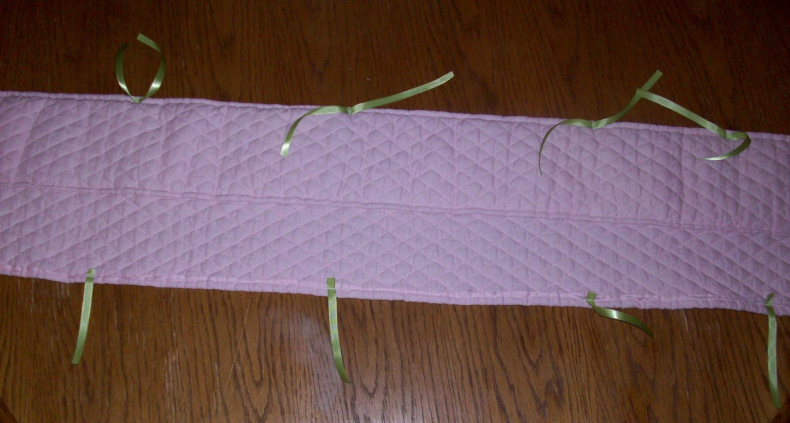 how to make a crib rail cover without sewing