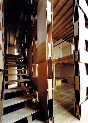 Wood Block House by Tadashi Yoshimura Architects