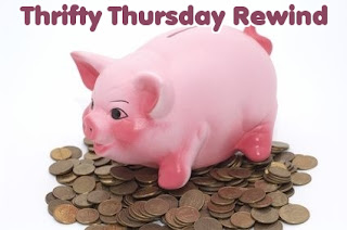 share your thirty thursday  frugal blog post