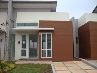 Model Rumah Minimalis Tampak Depan