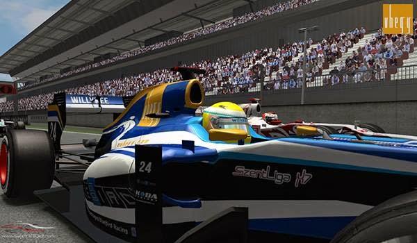 Spanyol Nagydíj, Formula-1 Szentliga, Szentliga, F1, szimulátorbajnokság, BlueBird Racing,