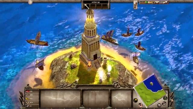 Age of Mythology PC Games Gameplay