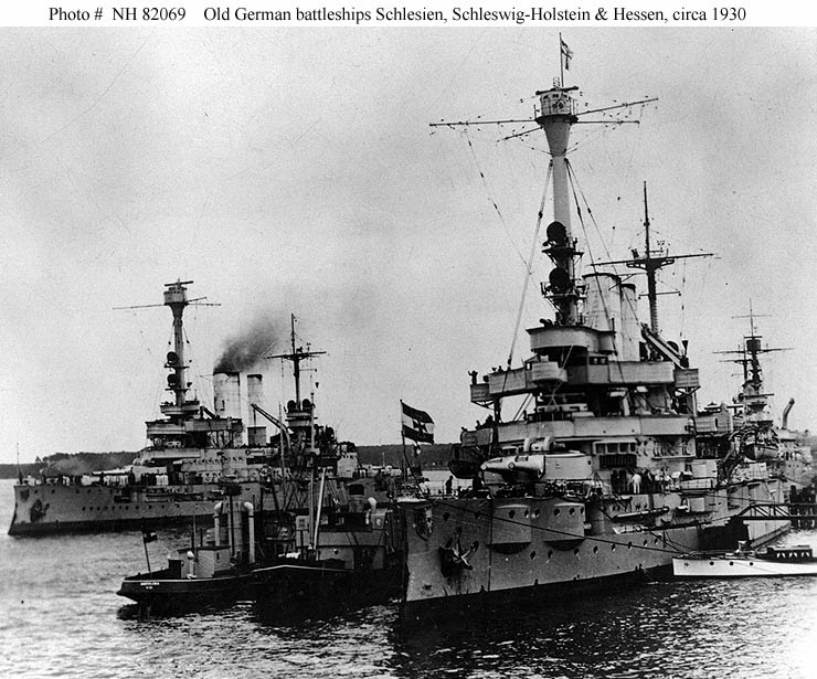 German battleships SMS Schlesien | World War Photos