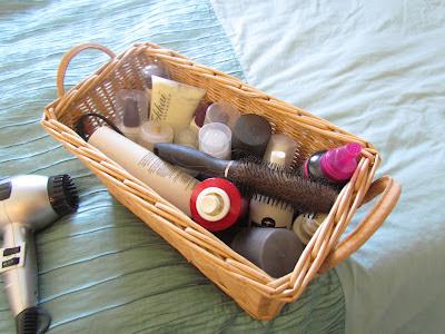 Hair styling box