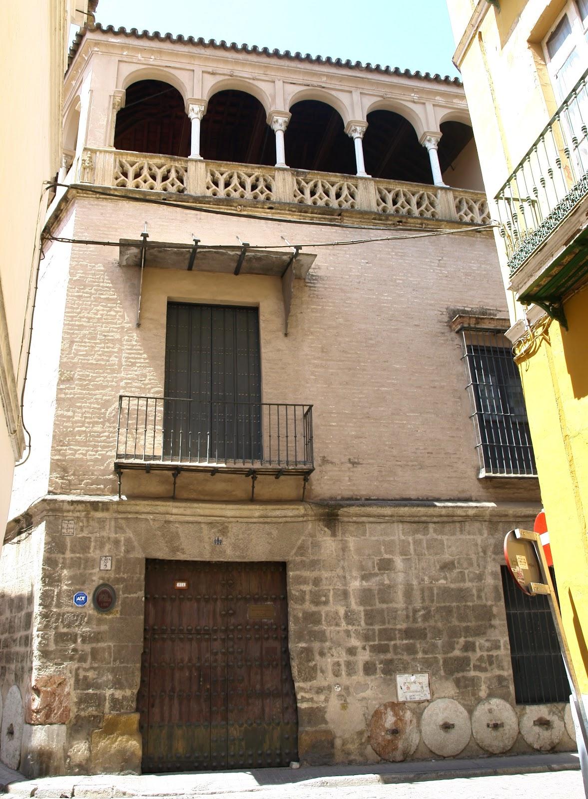 Sevilla daily photo la casa de los pinelo - Calle correduria sevilla ...