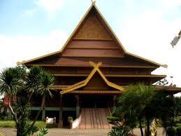 Download this Rumah Melayu Selaso Jatuh Kembar Adat Riau picture