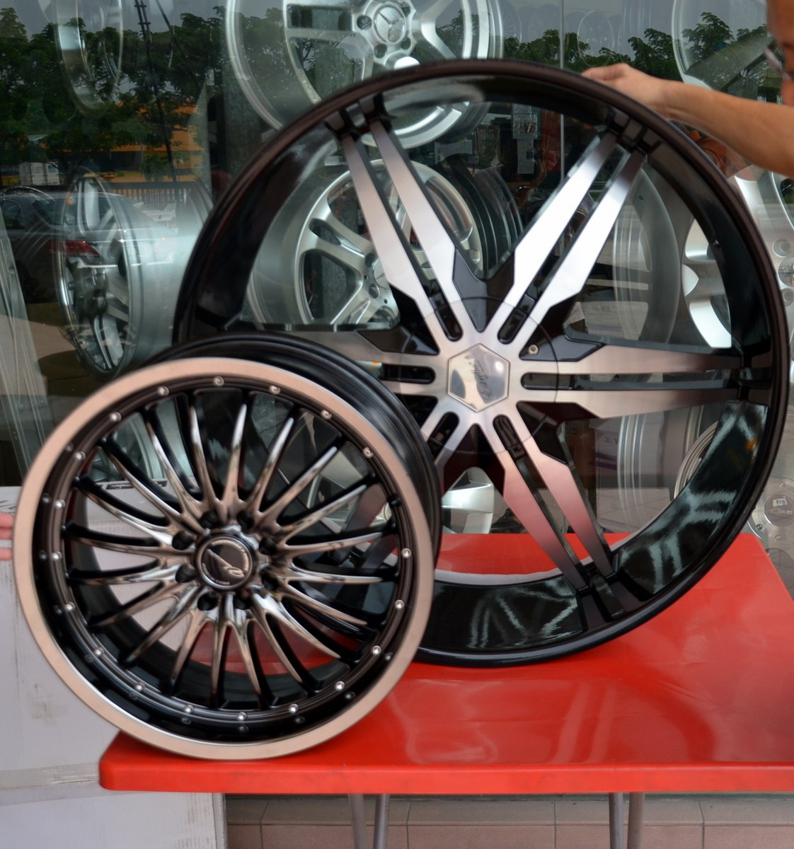 30 Inch Speakers And 30 Inch Rims : Tyre and rims h o one stop sdn bhd a big whopper