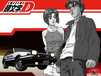 initial d anime anuncio retorno 2012